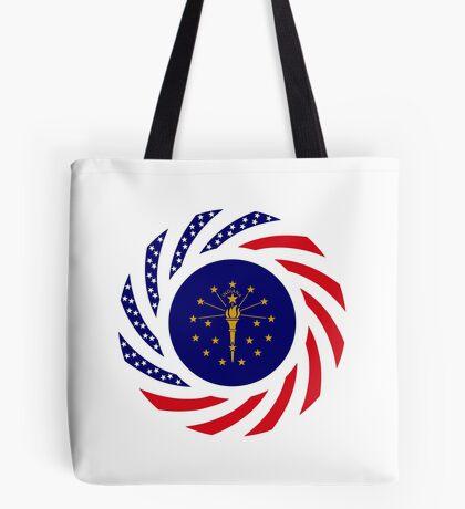 Indiana Murican Patriot Flag Series Tote Bag