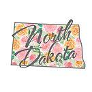 North Dakota State | Floral Design with Roses von PraiseQuotes