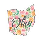 Ohio State | Floral Design with Roses von PraiseQuotes