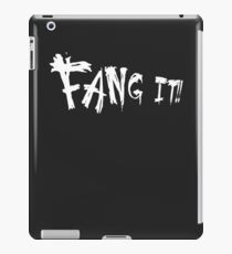 Fang it!! iPad Case/Skin