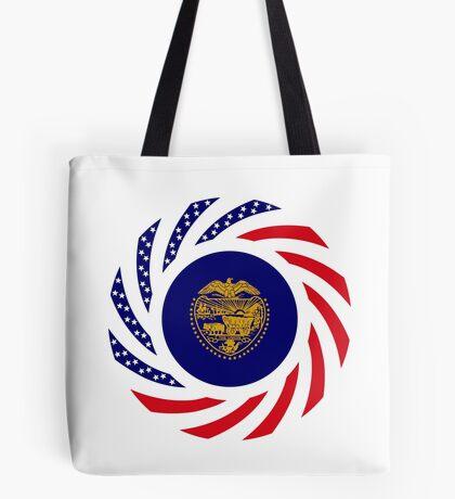 Oregon Murican Patriot Flag Series Tote Bag