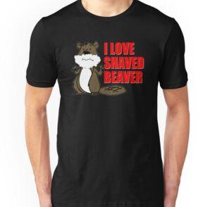 Shaved beaver eating theme