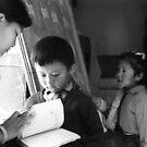 ka, kha, gha (tibetan abc) by Ursa Vogel
