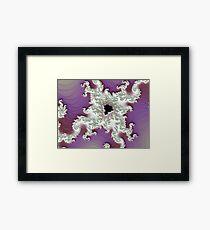 Papercraft Mandelbrot Framed Print