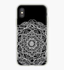 Circle Floral Mandala iPhone Case