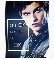 It's ok, Isaac. Poster
