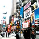 47th and Broadway - Times Square by Michael Degenhardt