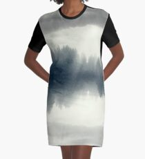 the floating forest Graphic T-Shirt Dress