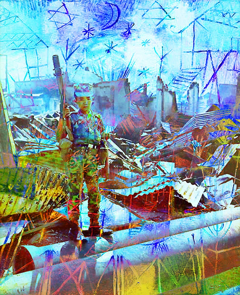 GLORIFICATION OF CHILD SOLDIERS 4 by Tammera