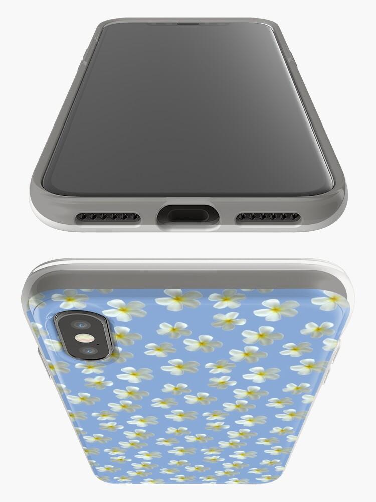 Alternative Ansicht von Frangipani - Weiß und Gelb iPhone-Hülle & Cover