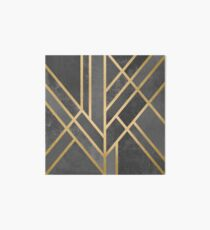 Art Deco Geometry 1 Art Board