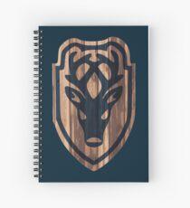 Falkreath Hold Shield Spiral Notebook