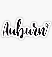 Auburn, AL Sticker