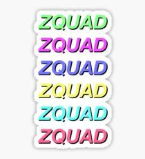 ZQUAD Sticker