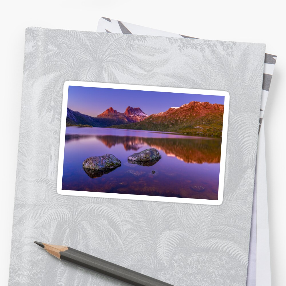 Cradle Mountain Sunrise Sticker