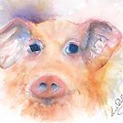 Here Piggy by LuciaM