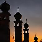 Rooftop At Night Marrakesh by Dorothy Berry-Lound
