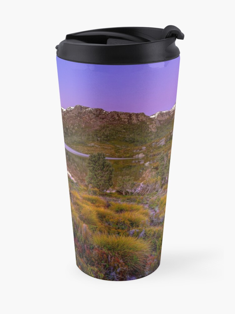 Alternate view of Dove Lake Reflections Travel Mug