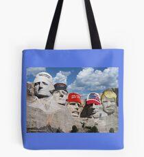 Mt. Rushmore Past and Future Tote Bag