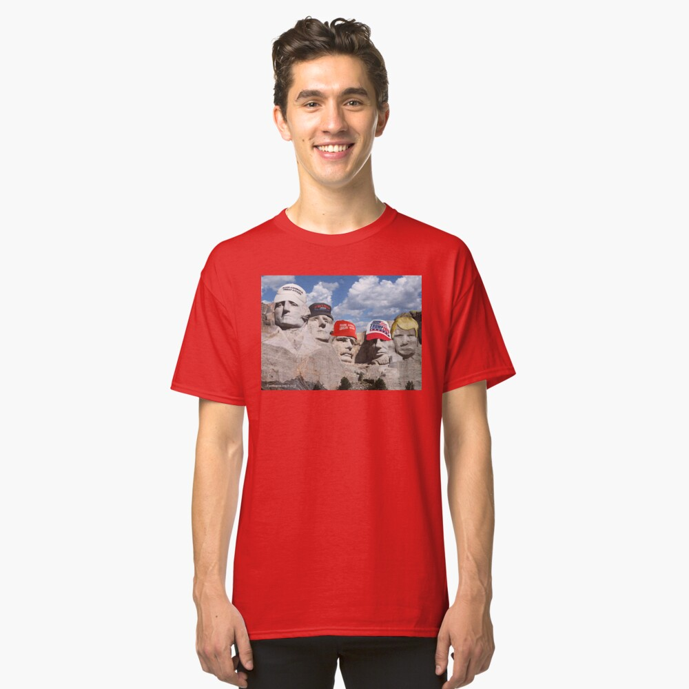 Mt. Rushmore Past and Future Classic T-Shirt