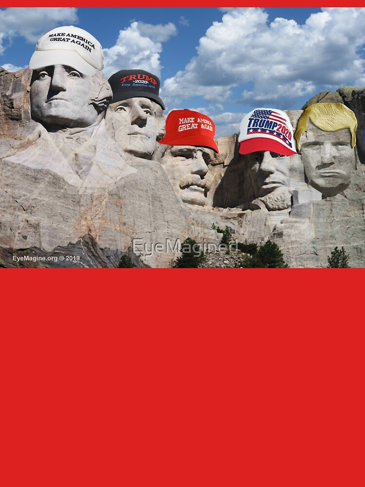 Mt. Rushmore Past and Future by EyeMagined
