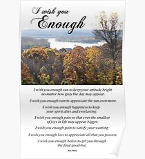 I Wish You Enough Poster