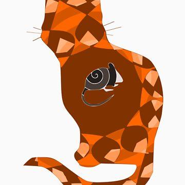 Nesting Doll Cat by fishcakefillet