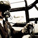 Lancaster Pilot by David Chadderton
