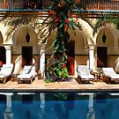 Spaces By The Pool Marrakesh by Dorothy Berry-Lound