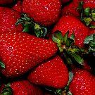 Farm Fresh Strawberries by Tori Snow