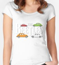 The Beetles Women's Fitted Scoop T-Shirt