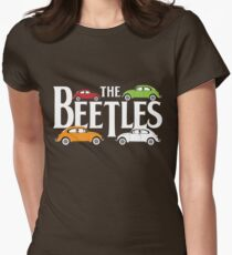 The Beetles Womens Fitted T-Shirt