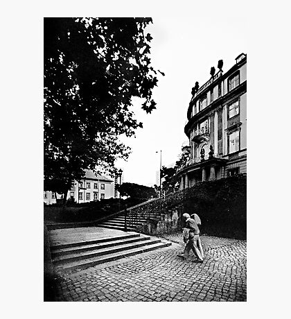 Poststraße / Ephraimpalais Photographic Print