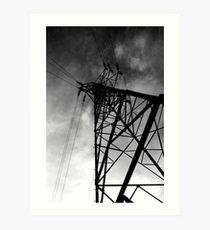 Power Tower Art Print