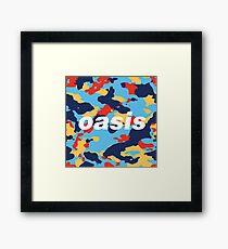 CamOasis Framed Print
