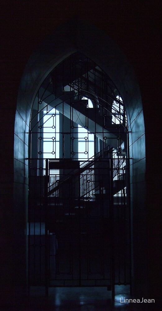 Secret Stairs by LinneaJean