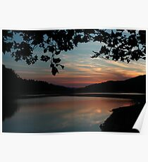 Clarks Creek Sunset Poster