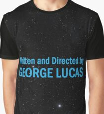 Written and Directed by George Lucas Graphic T-Shirt