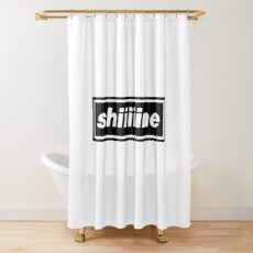 These are crazy days Shower Curtain