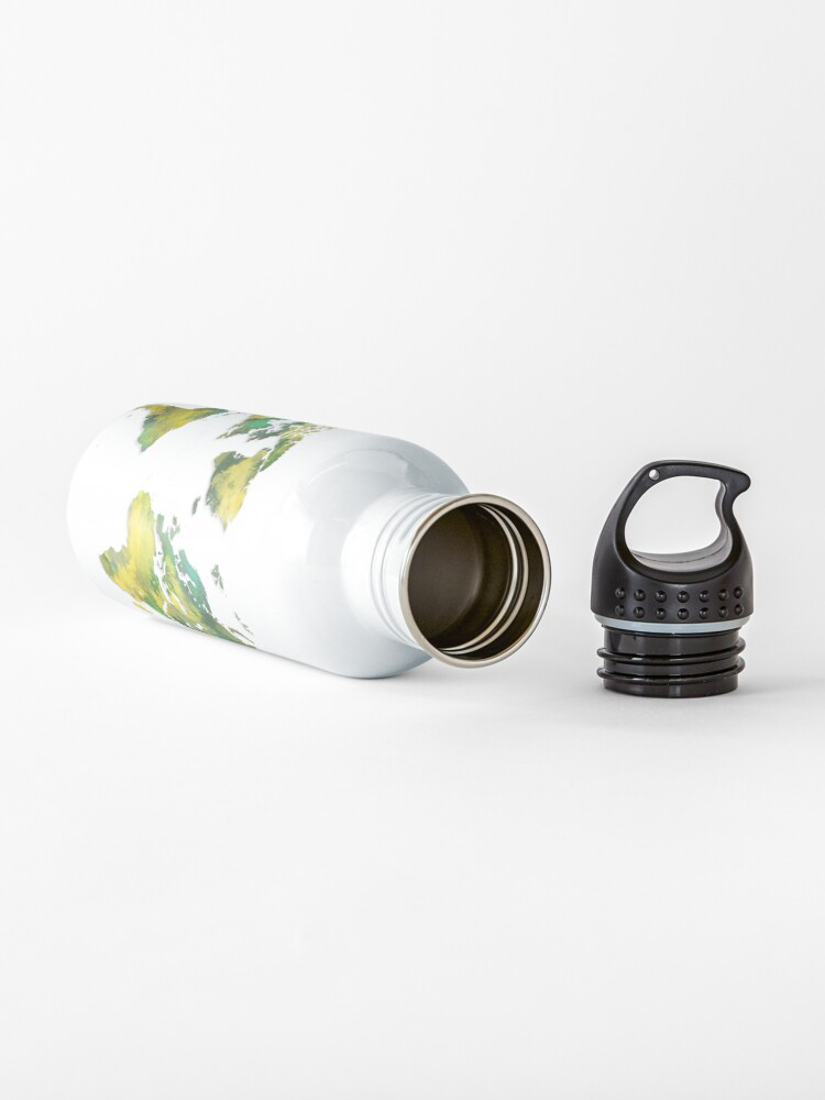 Alternate view of World map 2038 Water Bottle