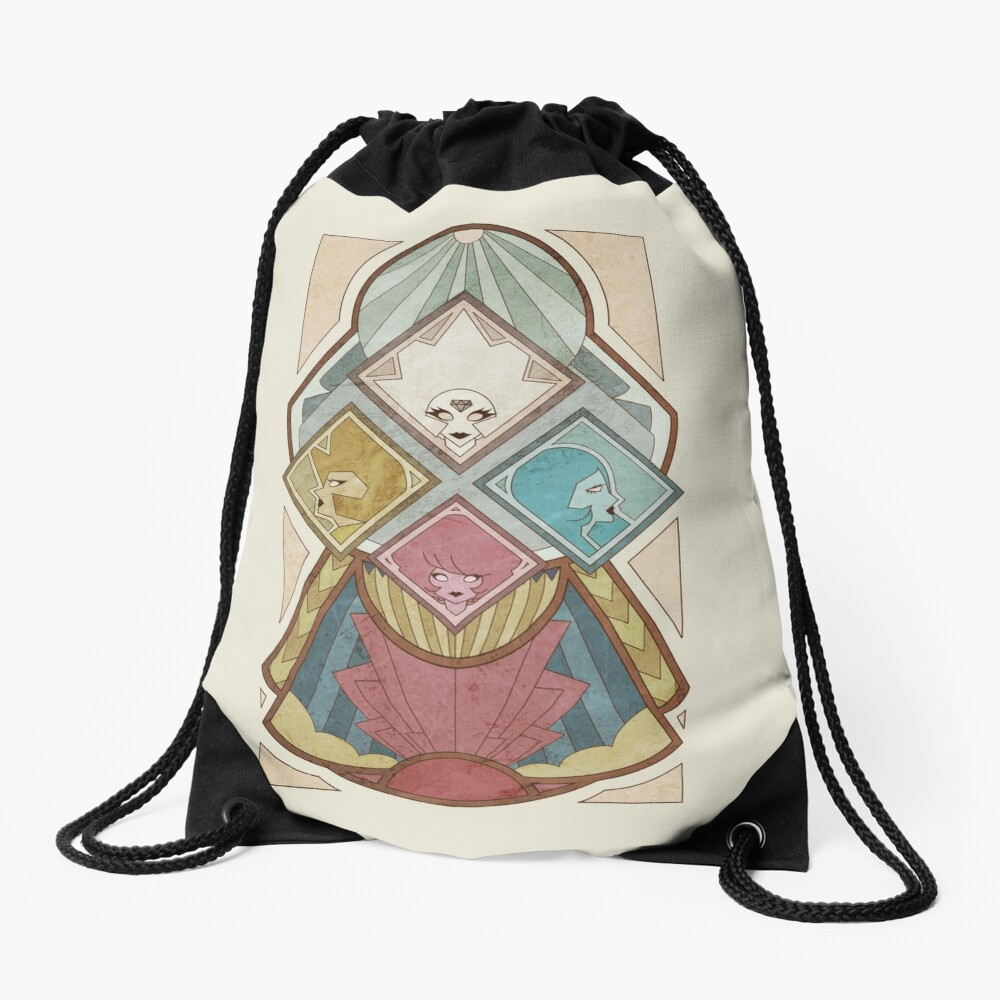 The Diamond Elites Drawstring Bag