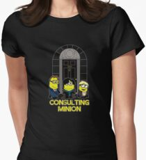 The Worlds only Consulting Minion Women's Fitted T-Shirt