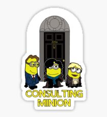 The Worlds only Consulting Minion Sticker