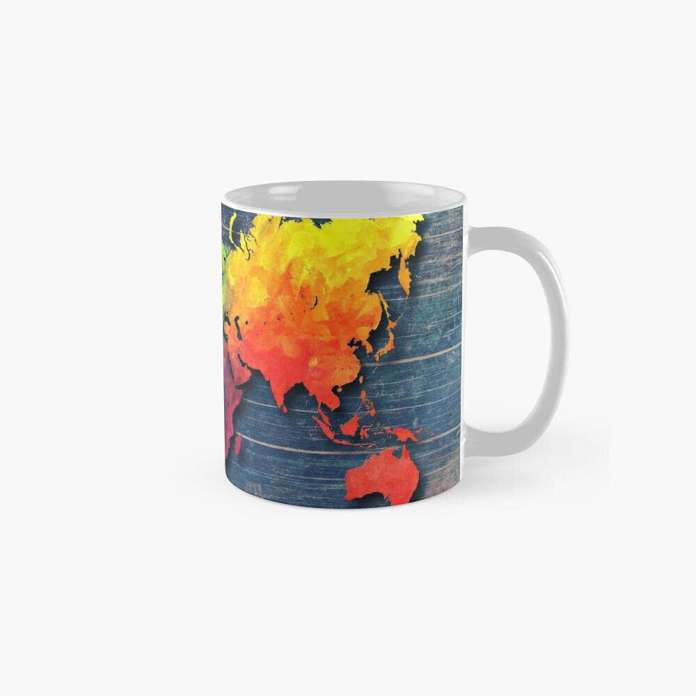Weltkarte speziell 8 Tasse