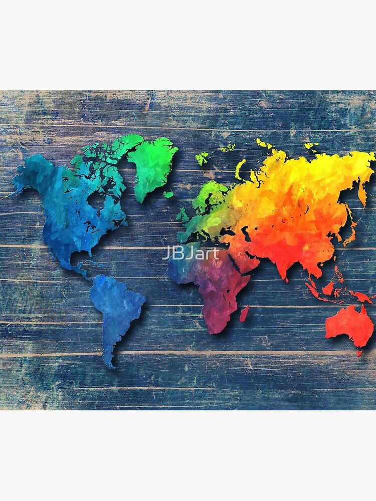 Weltkarte speziell 8 von JBJart