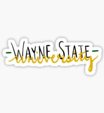 Wayne State Sticker