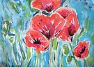 Poppies XI by Alexandra Felgate