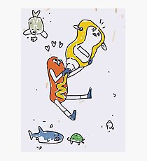 Kate's Poster - The Hotdog and the Mustard Photographic Print
