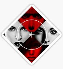 Bad Girls - Poker Face Sticker