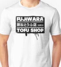 Initial D - Fujiwara Tofu Shop Tee (Black Box) T-Shirt